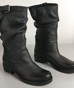 Stivali in pelle morbido