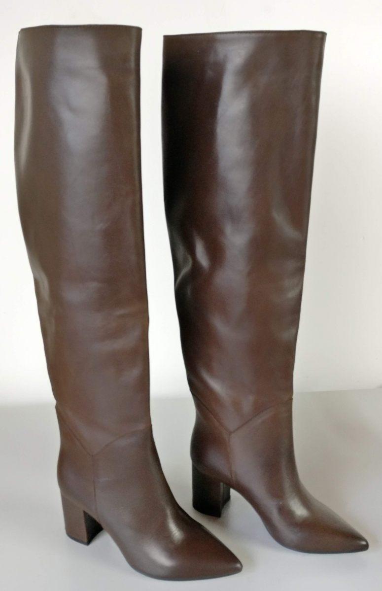 Stivali testa di moro tacco 7 cm